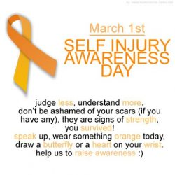 Self-Injury Awareness Day 2017